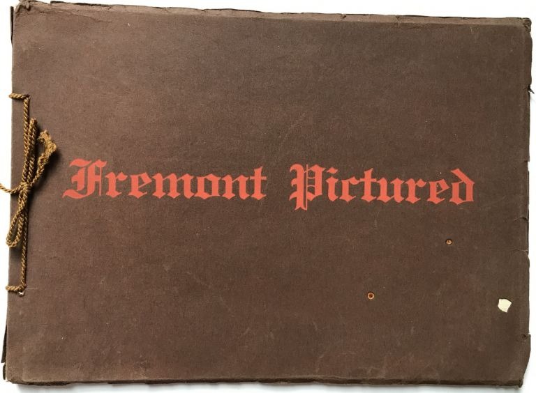 Fremont Pictured [cover title]. Nebraska.