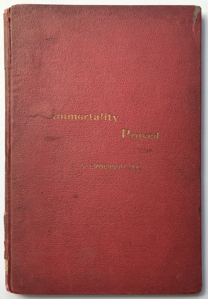 Are We Immortal? F. C. Emberson.