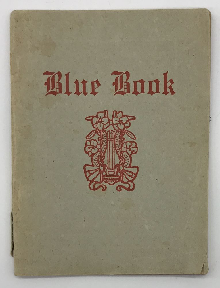 Blue Book [cover title]. New Orleans.