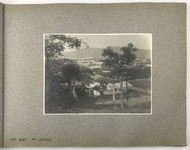 """Seen on Our """"Wedding Journey"""" July 26th - Sept. 13th '10 Boston - Costa Rica [manuscript title]. Costa Rica, George W. Harting."""