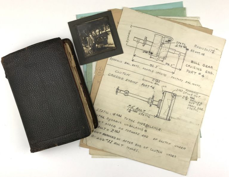 [Notebook of Machinist Howard Gee, Kept While Working at Mare Island Naval Shipyard]. Howard Gee.