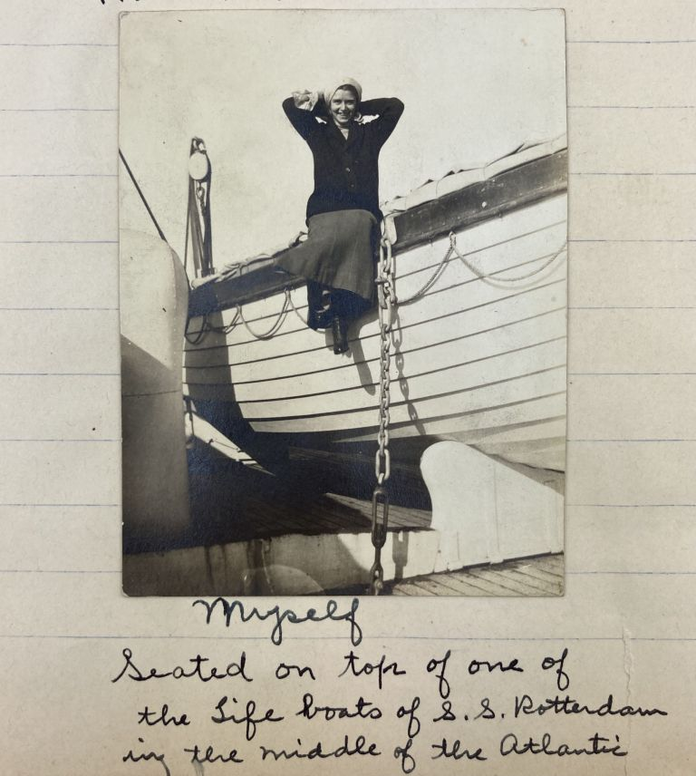 Diary of My Trip to Europe from June 29 to Oct. 25, 1914 [manuscript caption title]. Anna F. Weil, World War I.