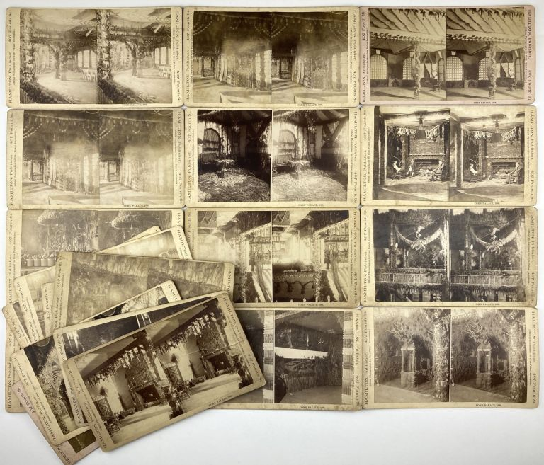 [Group of Twenty Stereoviews of the Sioux City Corn Palace of 1888]. Western Photographica, Iowa.