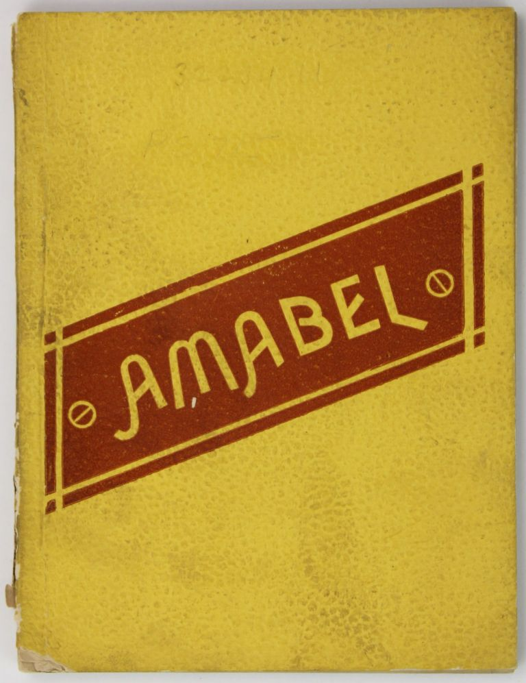 Amabel and Other Poems. Frank Humphreys.