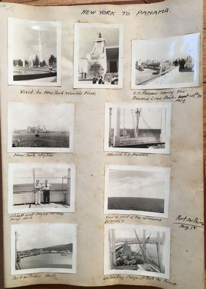 [Photo Diary of a 1939 Trip from New York to Central America, Containing over 360 Original Photographs]. Nicaragua, Panama, Costa Rica.