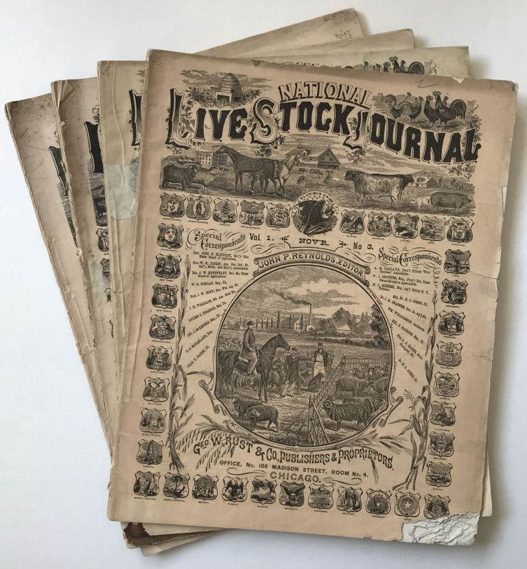 National Live Stock Journal [caption title]. Agriculture.