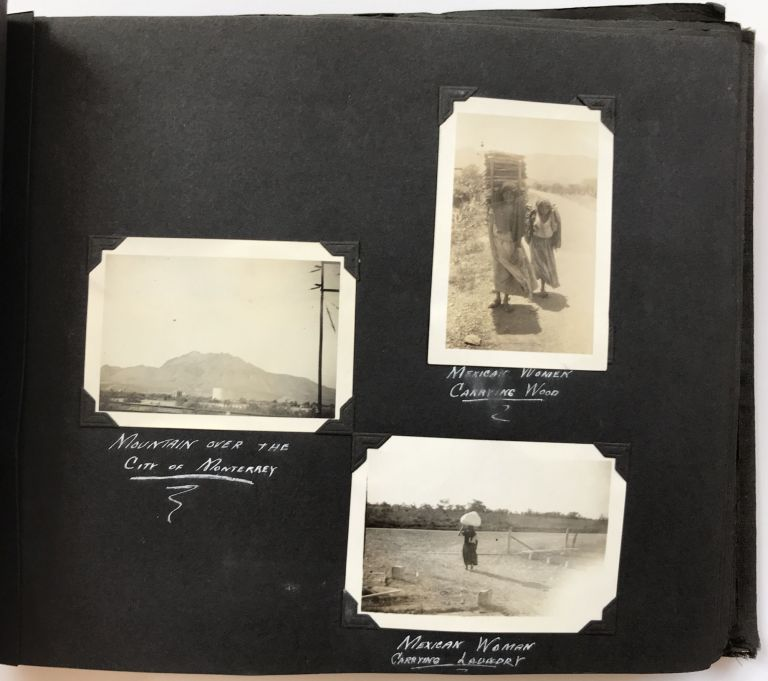 [Photograph Album Containing Nearly 300 Images of Depression-Era Road Trips Through the West and Mexico]. Western Photographica.