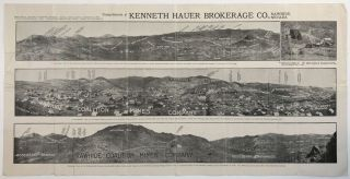 Broadside Showing the Rawhide Coalition Mines] Compliments of Kenneth Hauer Brokerage Co.,...