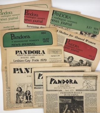 Thirteen Issues of Pandora: A Washington Women's News Journal from the 1970s]. Feminism, Washington