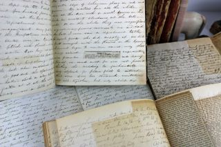 [Extensive Diary Archive of an East Coast Socialite in the 19th and early 20th Centuries, Covering Nearly Sixty Years, with Content Relating to the Civil War, Travel, Housekeeping, Celebrities, Politics, and Much More]