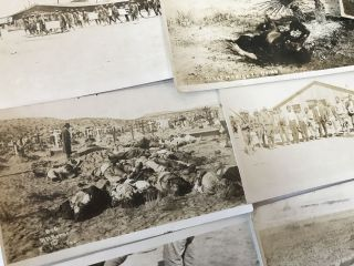 Large Collection of Nearly 175 Real Photo Postcards, Depicting Episodes from the Border War and...