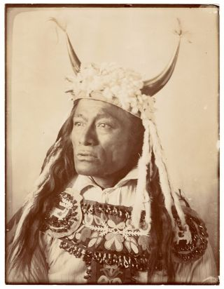 Set of Fifteen Original Photographs of the Sioux and Assiniboine People by a Montana...