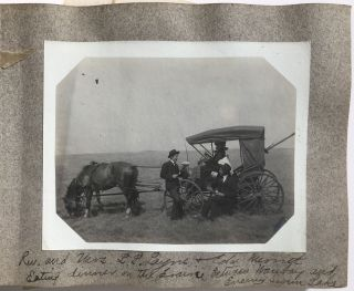 Vernacular Photo Album of Northeastern South Dakota, Depicting Life on the Rural Prairies]....