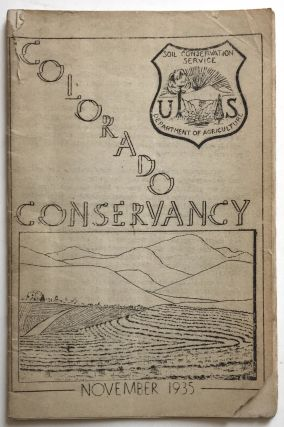 Colorado Conservancy. Vol. 1, No. 3 [caption title]. Colorado, Soil Conservation Service