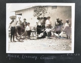 Vernacular Photo Album Documenting a Trip to Arizona from Kansas, with Extensive Images of Local...