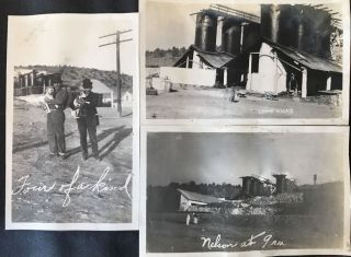 Vernacular Photo Album of the Grand Canyon Lime & Cement Company, Depicting the Mines, the...
