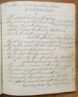 [Diary and Commonplace Book of Confederate Cavalry Officer Oswald Tilghman, Compiled While a Prisoner of War at Johnson's Island in 1864]