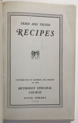 Tried and Tested Recipes
