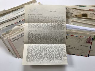 Archive of Letters Written by a Czech Immigrant Family in California to Relatives in Illinois]....