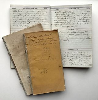 Archive of Three Diaries Documenting a Family's Life in California During the Civil War]. Jesse...
