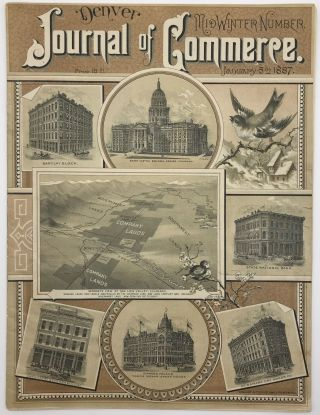 Denver Journal of Commerce. Vol. VII, No. 1. Colorado