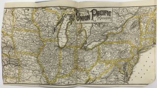 Union and Central Pacific Railroad Line Via Omaha or Kansas City to San Francisco [cover title]
