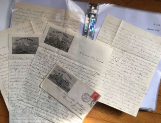 [Correspondence of Harry Irwin, Medical Intern at a Denver Hospital, to Student Elizabeth Wilhelmy, During 1904]