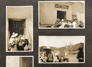 Vernacular Photograph Album of 760 Photographs Documenting Coffee Plantations in Mexico and...