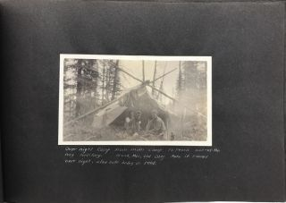 Vernacular Photograph Album Documenting Work with the Ontario Forestry Branch and the Dominion...