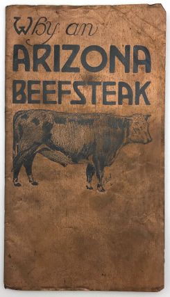 "A Publication in the Interests of ""Arizona Beef Preferred"" Arizona, Cattle"