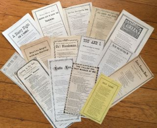 Collection of Fifteen San Francisco Songsheets]. California, Music