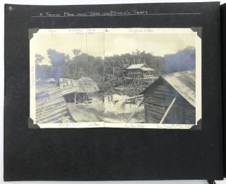 Two Photograph Albums Documenting the Tikwah Mining Corporation's Activities in British Guiana]....