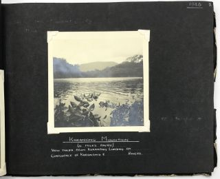 [Two Photograph Albums Documenting the Tikwah Mining Corporation's Activities in British Guiana]