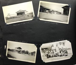 Photograph Album Kept by an Internee at the Poston War Relocation Center]. Japanese Internment,...
