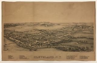 Cleveland, N.Y. Bird's Eye Views, New York