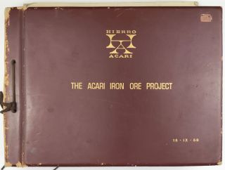 The Acari Iron Ore Project [cover title]