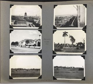 Photo Album of a Wealthy Family's Travels Around the World, with Scenes from Cuba, Jamaica,...