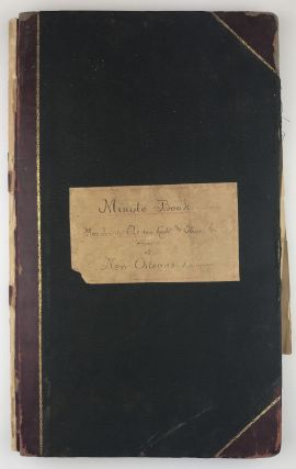 Minute Book Merchant Electric Light and Power Co. of New Orleans Louisiana [manuscript cover...
