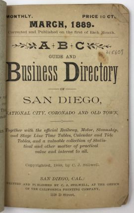 ABC Guide and Business Directory of San Diego, National City, Coronado, & Old Town