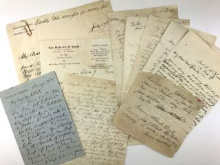Archive of Correspondence Relating to Missionary Work on the Wind River Indian Reservation,...