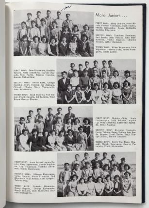 Memoirs - 1943. Hunt High School, Hunt, Idaho