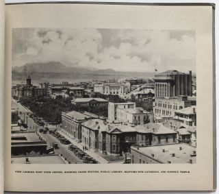 El Paso, Texas. Metropolis of the Great Southwest and Main Gateway to Mexico [cover title]