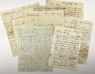 Archive of Letters from Coffee Planter Thomas Leech Concerning Business Affairs in Cuba]. Thomas...