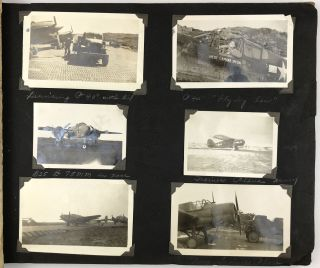 Photo Album Containing More than 100 Original Photographs of the 39th Air Depot at Amchitka,...