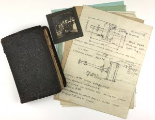 Notebook of Machinist Howard Gee, Kept While Working at Mare Island Naval Shipyard]. Howard Gee
