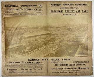 Kansas City Stock Yards [caption title]