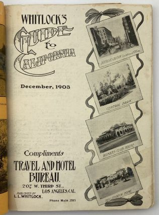 Whitlock's Guide to California December, 1903