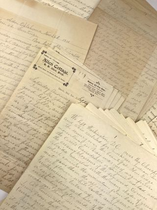 [Archive of Correspondence and Manuscript Accounts of a Woman's Work and Travels in Indian Territory]