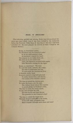 Bugle Peals, or Songs of Warning for the American People