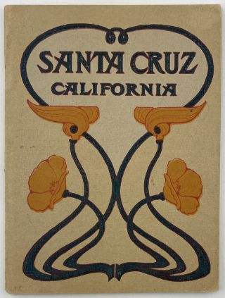 The City of Santa Cruz and Vicinity. California